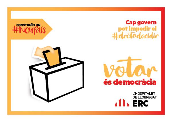 votar és democràcia