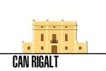 Can Rigalt és una masia del segle XVIII, que es troba en un estat d'abandonament i degradació greu