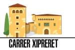 El carrer Xipreret i el seu entorn configuren el nucli antic de l'Hospitalet