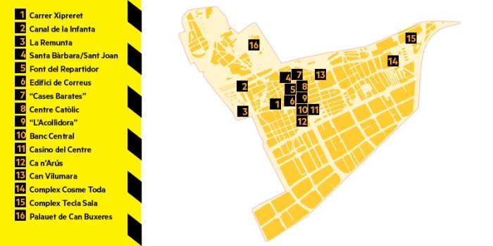 mapa del districte I