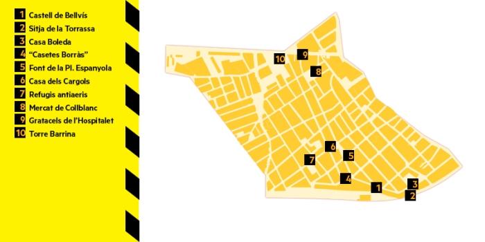 mapa del districte II