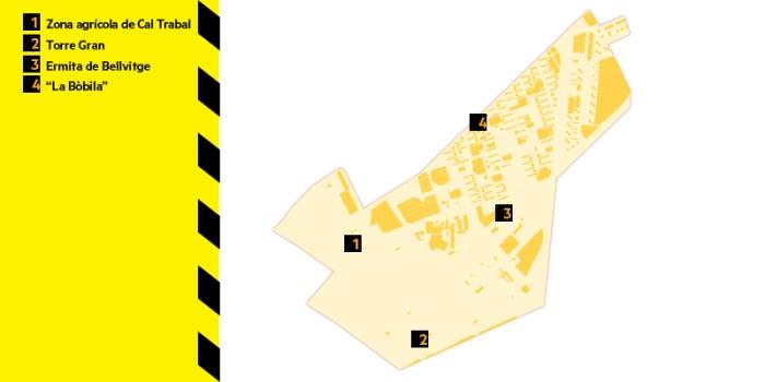 mapa del districte VI
